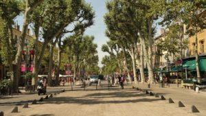 Einkaufsstraße Aix-en-Provence