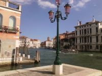 Wasserstraße in Venedig