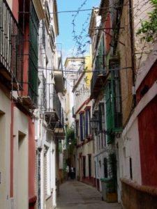 Straßenzug Sevilla