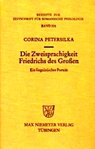 Buchcover: Die Zweisprachigkeit Friedrichs des Großen