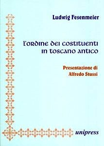 Buchcover: L'ordine dei costituenti in toscano antico