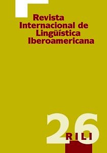 Buchcover: Revista Internacional de Lingüística Iberoamerica, 26