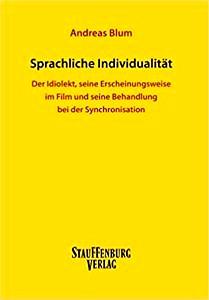 Buchcover: Sprachliche Individualität