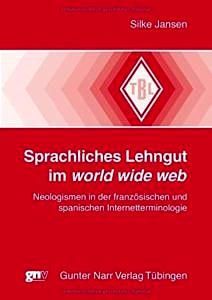 Buchcover: Sprachliches Lehngut im world wide web