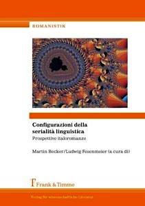 Bild von Buchcover Configurazioni della serialità linguistica